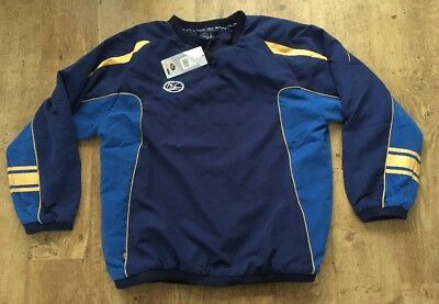 ISC Rugby League Generic Pullover Top Training Pitch Side Royal Navy Yes, XXL