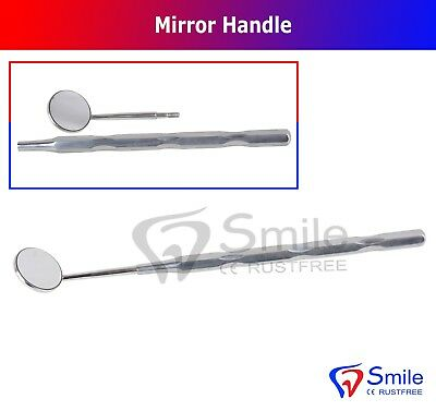 Dental Mirror Front Surface With Handle Dentistry Mouth Mirror Hygienist CE UK