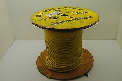 """SUPER-TREX TPC #86310 6AWG 600V FT-1 Copper Arc Welding Cable 250"""" - NEW"""