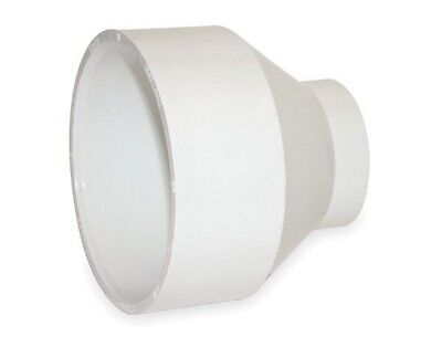 "Spears 429-422 PVC SCH-40 pvc Reducer Coupling, 4"" x 3"", White - Lot of 3 - NEW"