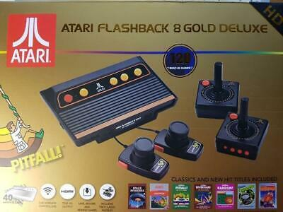 Atari Flashback 8 Gold HD + 120 Spielen und 2 Wireless Controllern 2Paddle BWare