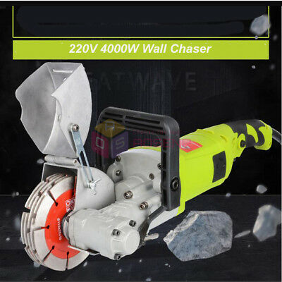 220V Electric Wall Chaser Groove Cutting Machine Wall Slotting Machine 4KW 33mm