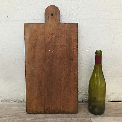 Antique Vintage French Bread Or Chopping Cutting Board Wood 3110182