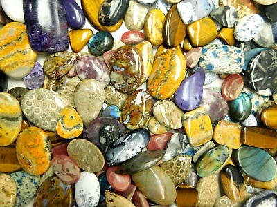 Excellent Wholesale Lot Offer In Multi Gemstone Cabochon Natural Loose Gemstone