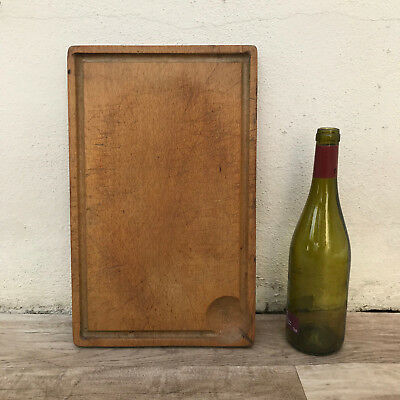 Antique Vintage French Bread Or Chopping Cutting Board Wood 3110189