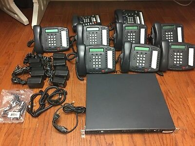 NBX V3001 VOIP Small Business Phone System - Complete - ready to go.
