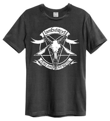 Lamb of God T Shirt Amplified Official Pure American Metal Bloodletting Music