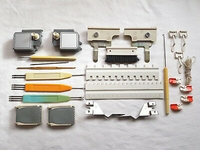 Silver Reed Knitmaster Knitting Machine Part Mod 600 700 Std Huge Full Tool Kit