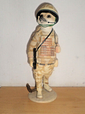 Magnificent Meerkat Tommy CA03074 from Country Artists  military  soldier theme