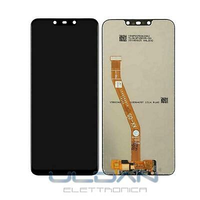 LCD DISPLAY HUAWEI P SMART PLUS INE-LX1 NOVA 3i INE-LX2 PER TOUCH SCREEN NERO