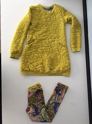 Oilily Outfit Set Jumper & Leggings Age 8 Years Size 128 Cm