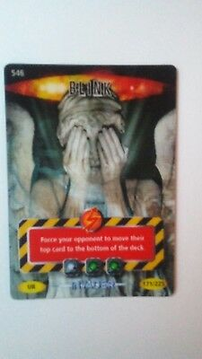 Dr Doctor Who BATTLES IN TIME Invader ULTRA RARE blink card 546