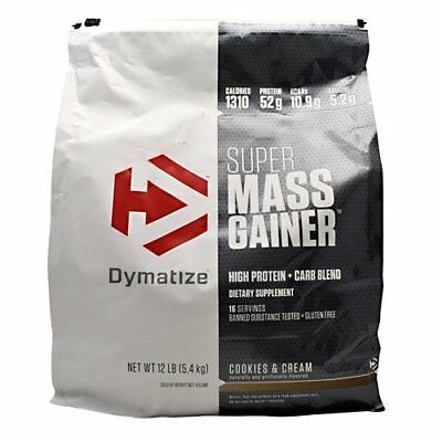 Dymatize Nutrition Super Mass Gainer 12 lbs. Pick Flavor New