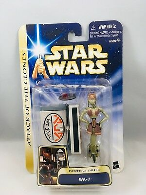 Star Wars Attack Of The Clones Dexters Diner Wa 7 Moc 999