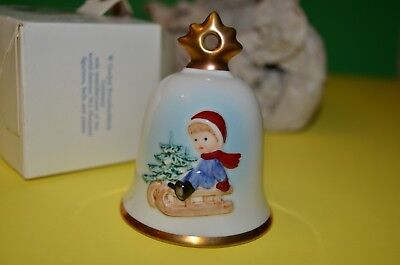 1995 Goebel Hummel Annual Christmas Bell Ornament Twelfth Edition NEW in Box