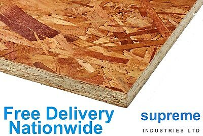 OSB Sterling Board 2440x1220  11mm & 18mm FREE DELIVERY - Cheapest On Ebay