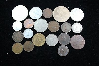Germany  20 assorted coins mixed lot   lot J 318