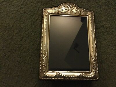 Vintage Sterling Silver Picture Frame Hallmarked 325 X 475