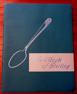 The Magic of Sterling International Silver Booklet 1940s Advertising Brochure