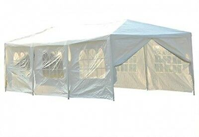 Outsunny 10x30ft Wedding Party Gazebo Tent Portable Folding Garden Canopy Event