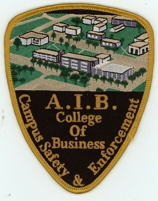 A.i.b. College Of Business Campus Safety And Enforcement Iowa Ia Patch Police