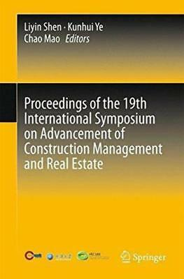 Proceedings of the 19th International Symposium on Advancement of Construction M