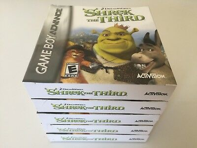Shrek the Third (Nintendo Game Boy Advance, 2007) NEW