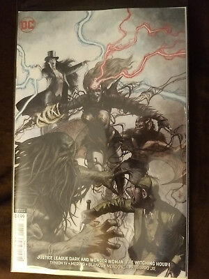 Justice League Dark and Wonder Woman #1 Federici Variant DC Comic NM Never Read