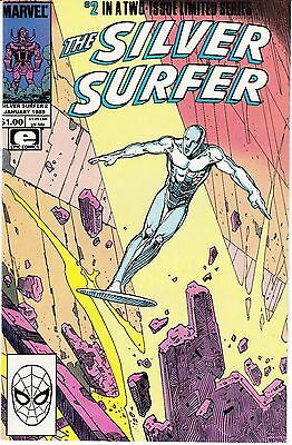 The Silver Surfer #2 (Jan 1989, Marvel) Part 2 of 2