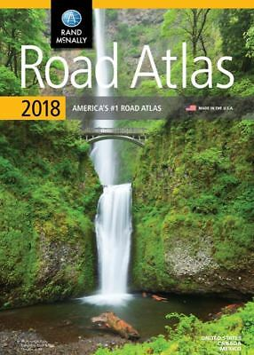 Rand McNally 2018 Road Atlas America's #1 United States Canada Mexico