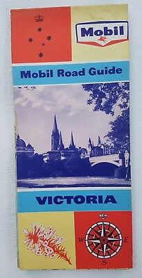 1962 MOBILE road guide of VICTORIA Never been used  Like NEW