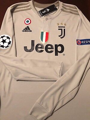 wholesale dealer 08a57 00ebe PAULO DYBALA #10 Juventus LONG SLEEVE Away UCL 18/19 Jersey NWT