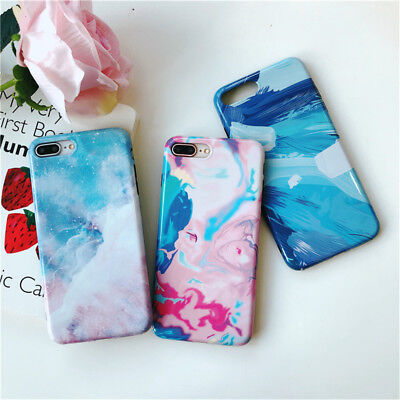 Marble Phone Case Cover For iPhone 7 6 6S 8 Plus Xs Fashion Soft TPU Back Soft