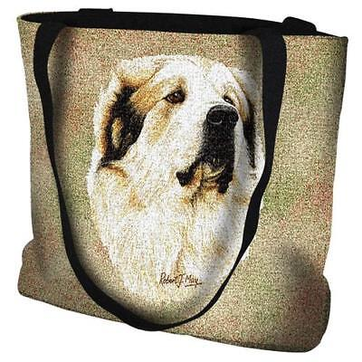 Great Pyrennees dog tote bag #1188-B (Robert may) Pure Country NEW