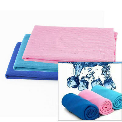 12 Pcs Ice Cold Towel Cooling Towel Jogging Gym Chilly Pad Instant Cooler Towel
