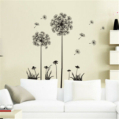 Home Bedroom Dreamy Dandelion Wall Stickers Decal Art Vinyl Room Decor Sale 1pc