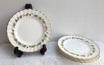 Lot of 5 Royal Doulton PIEDMONT H 4967 Bread & Butter Plate (978)