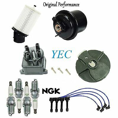 Tune Up Kit Filters Cap Wires & Plugs FIT Acura Integra LS; RS; 1.8L 1994-2001
