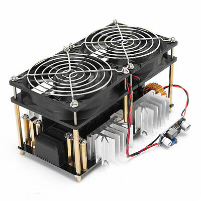 1800W ZVS Induction Heating Board Module Driver Heater + Tesla Coil +Fan Machine