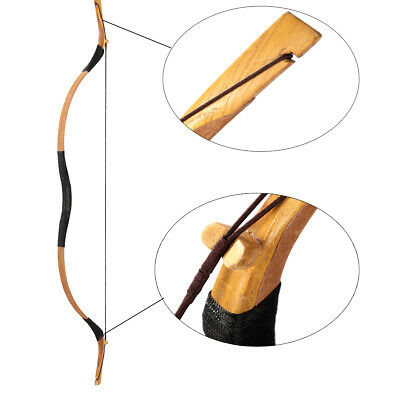 NEW 55LBS MONGOLIAN Archery Horse Bow Adult Recurve Bow