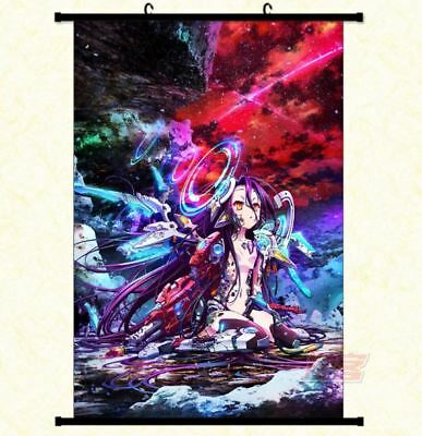 No Game No Life Wallscroll Poster Plakat Tapete Anime Dekoration Gift 60x90CM 02