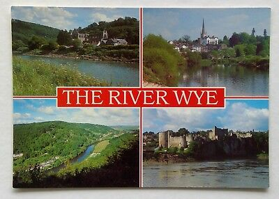 The River Wye Tintern Abbey Ross-On-Wye Symonds Yat Chepstow Postcard (P343)