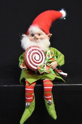 Christmas Elf  40cm. Red and White.