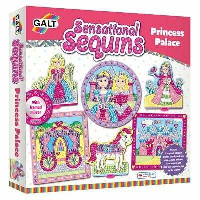 Galt Toys Pailletten Bastel Set Paillettenbild Kinder Princess Palace 381004906