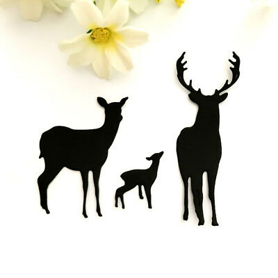 Elk Design Metal Cutting Dies For DIY Scrapbooking Card Paper Album ZJHN