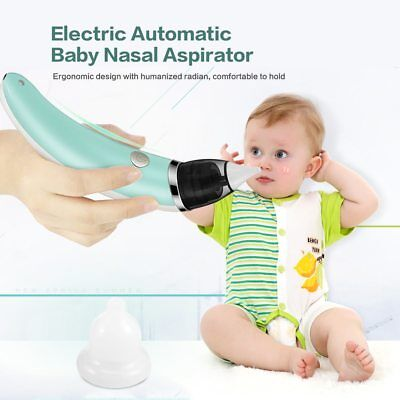 Baby Nasal Aspirator Electric Safe Hygienic Nose Cleaner Nose Oral Snot Sucker