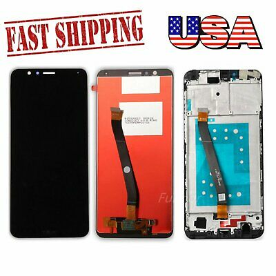 For Huawei Honor 7X BND-L24 L21 TL10 AL10 LCD Display Touch Digitizer Frame US