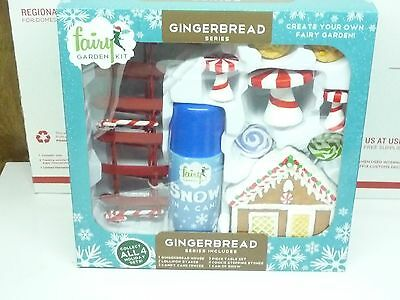 Arcadia Garden Products  Fairy Garden Kit GINGERBREAD HOUSE, NEW