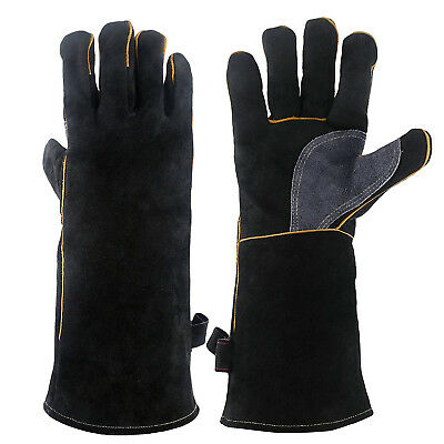 Extreme Heat & Fire Resistant Gloves Leather with Kevlar Stitching Welding Glove