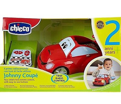 Chicco Johnny Coupe Remote Control Racing Car 2-6 Years Free UK Postage!